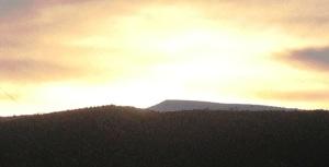 Greeting the sunrise, Ephraim, Utah