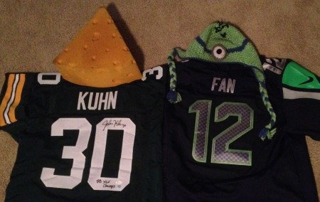 Packers versus Seahawks: a Fan's Conundrum